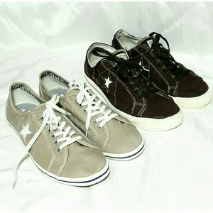 Converse One Star Sneakers - Two Pairs